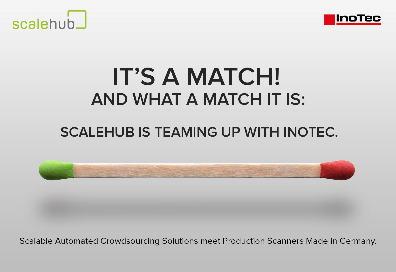 Kooperation zwischen InoTec und ScaleHub